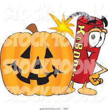 Animated Halloween Pumpkin by Royalty Free Explosive Stock Cartoon Designs
