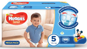 huggies gold boys size 5 100 nappies buy online in south