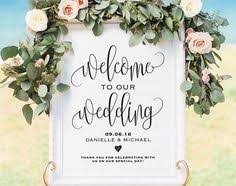 wedding signs template welcome to our beginning sign printable wedding welcome sign