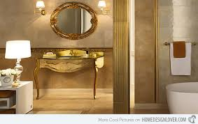 gold bathrooms elegant vanity sets and bathrooms from versace home tiles by