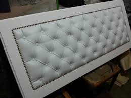 Roma Tufted Wingback Headboard Oyster Fullqueen by King Sized Headboard Tufted Upholstered Velvet Fabric Nailhead
