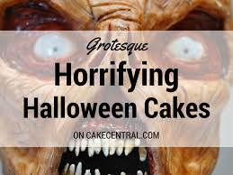 seriously spooky halloween cakes cakecentral com