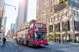 Hop On Hop Off New York Map by Hop On And Off Bus Nyc The Best Bus