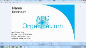 Creating Business Cards In Word How To Make A Business Card Holder Out Of Duct Tape How To Make A