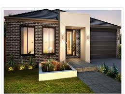 Small Concrete House Plans Amazing Designs Of Home Garden Green Lawn And Comfy Outside Chairs