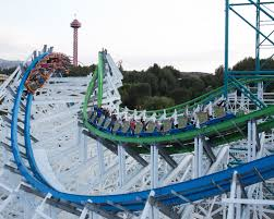 Six Flags Magic Mountain Fire Best Amusement Parks In Los Angeles And Southern California