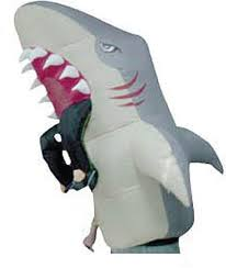Shark Costume Halloween Shark Inflatable Costume