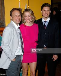 broadway opening after party of norbert leo butz jordan ballard and aaron tveit attend the after party for the broadway