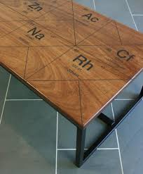 Periodic Table Coffee Table Harnall Taste Delight Reclaimed Iroko Coffee Table Mustard Vintage