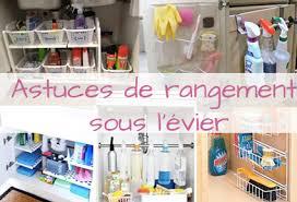 rangement sous evier cuisine 6 astuces de rangement sous l évier organisation maison
