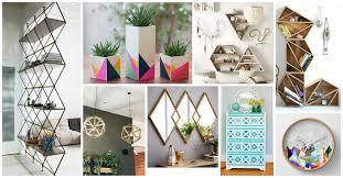 geometric home decor 30 geometric home decor ideas you will love