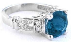 engagement rings london london blue topaz ring in 14k white gold gr 6039