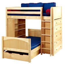 3 Way Bunk Bed Bunk Beds 3 Way Bunk Bed Birch Wood Constructed L Shaped The