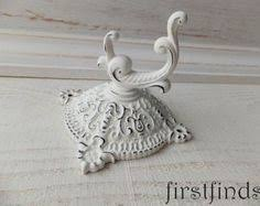 Shabby Chic Curtain Holdbacks by 4 Curtain Tie Backs White Medallion Shabby Chic French Nordic