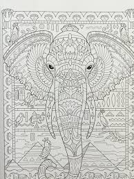 printable coloring pages zentangle awesome adult coloring pages printable zentangle elephant collection