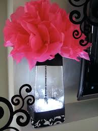 fuschia and black wedding decorations pink and black wedding
