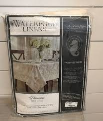 waterford table linens damascus waterford table linens damascus 70 x 84 tablecloth ebay