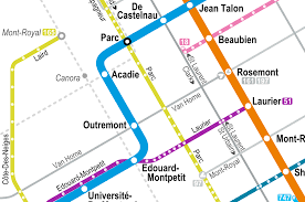 Metro Bus Routes Map by