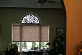 Sheer Roller Blinds For Arched Budget Blinds East Hampton Ny Custom Window Coverings