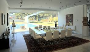 Modern Madrid House  Luxury Dining Room Decor View Contemporary - Luxury dining rooms