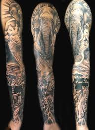 the 25 best animal sleeve tattoo ideas on pinterest forest