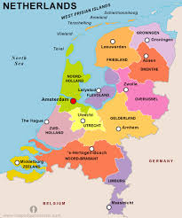 netherlands map free netherlands map map of netherlands free map of