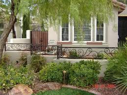 garden cute home exterior decoration using light grey exterior