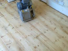 Sanding Floor by Floor Sanding And Gap Filling Project In Guildford