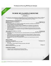 Pre Med Resume Sample by Nursing Resume Example Create My Resume Best Registered Nurse
