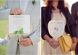 personalized wedding programs 15 ways to welcome your wedding guest the magazine