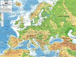 Mediterranean Europe Map by Europe