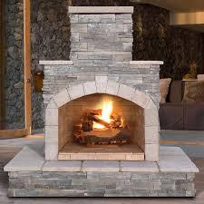 Hampton Bay Outdoor Fireplace - outdoor fireplaces