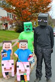 Craft Halloween Costumes Minecraft Halloween Costumes Team Cress