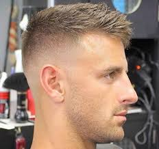 what hairstyles can be done with a bald spot in the top of head haircuts for balding men high bald fade with crew cut haircut
