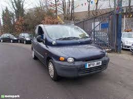 fiat multipla fiat multipla estate 100 16v sx motopark uk