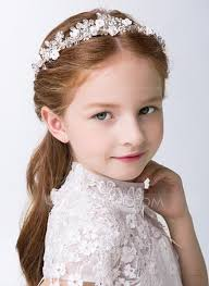 flower girl headbands white alloy lovely flower girl headbands 198121127 flower girl