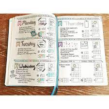 Journal Design Ideas 92 Best Bullet Journal Daily Logs Inspiration Images On