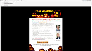 ecommerce eye candy spooky scary halloween marketing campaigns