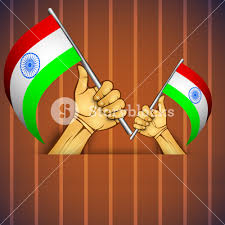 Juneteenth Flag Illustration Of A Human Hand With Indian Flag Royalty Free Stock