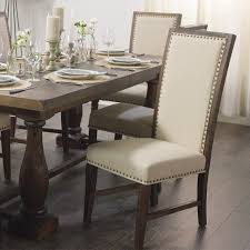 dining room sets with fabric chairs rustic java greyson side chair set of 2 world market
