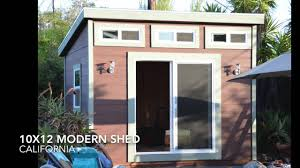 Modern Shed Designs 10x12 Shed Plans From Icreatablestv Youtube
