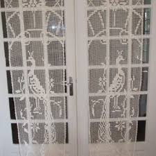 Crochet Lace Curtain Pattern Shop French Lace Curtain On Wanelo