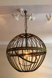 Armillary Sphere Chandelier 19th Century Armillary Sphere Lantern Ceiling Lighting Chandeliers
