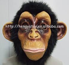 realistic baboon monkey gorilla mask size full face animal
