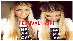 festival headbands how to festival hair braided headband