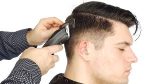 Undercut Hairstyle Men Back by How To Fade An Undercut Step By Step Thesalonguy Youtube