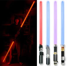 lightsaber toy light up get your geek on with these badass lightsabers technabob