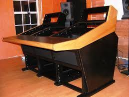 Custom Desk Ideas Desk Design Ideas Finally Orange Custom Desk Black Wooden Stained