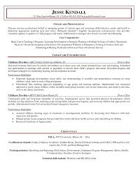 Nanny Job Responsibilities Resume by Choose Nanny Experience Writing Nanny Resume Nanny Volumetrics Co