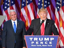 donald trump presiden amerika donald trump dan mike pence terpilih jadi presiden dan wakil